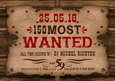 150 most wanted