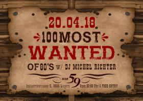 100 most                                                           wanted
